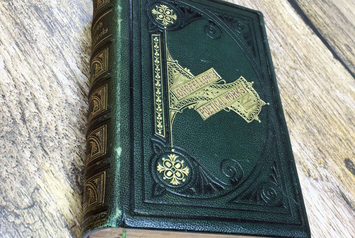 longfellows book binding